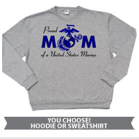 _Hoodie or Sweatshirt: Proud Mom-EGA
