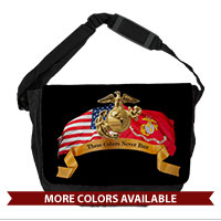 Messenger Bag: Colors Never Run
