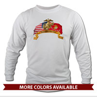 _Long Sleeve Shirt (Unisex): Colors Never Run