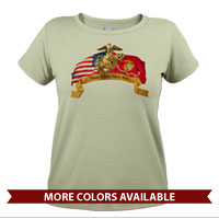 _T-Shirt (Ladies): Colors Never Run