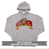_Sweatshirt or Hoodie: Colors Never Run