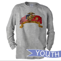 _Youth Long Sleeve Shirt: Colors Never Run