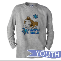 _Youth Long Sleeve Shirt: Semper Fido - Winter