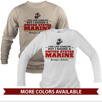 _Long Sleeve Shirt (Unisex): I may look harmless... -red