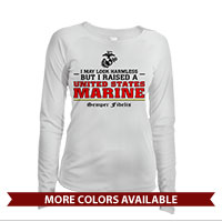 _Long Sleeve Solar Shirt (Ladies): I may look harmless... -red