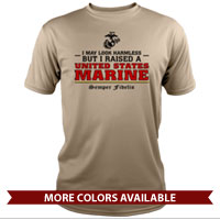 _Performance Shirt: I may look harmless... -red