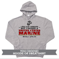 _Sweatshirt or Hoodie: I may look harmless... -red