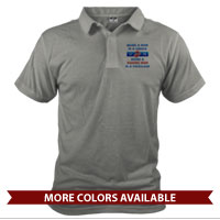 _Polo (Unisex): Being a Marine Mom is a Privilege