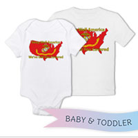 _T-Shirt/Onesie (Toddler/Baby): Sleep Well...We've Got You Covered