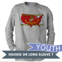 _Youth Long Sleeve Shirt: Sleep Well...We've Got You Covered