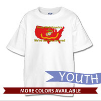 _T-Shirt (Youth): Sleep Well...We've Got You Covered