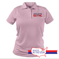 _Polo (Ladies): Land of the Free, USMC