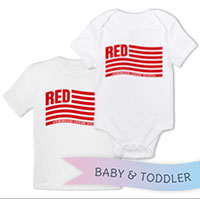 _T-Shirt/Onesie (Toddler/Baby): Remembering Everyone Deployed