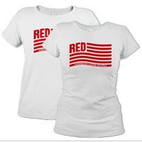 _T-Shirt (Ladies): Remembering Everyone Deployed