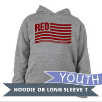 _Youth Hoodie or Long Sleeve Shirt: Remembering Everyone Deployed
