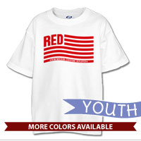 _T-Shirt (Youth): Remembering Everyone Deployed