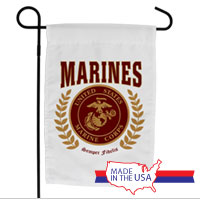 Garden Flag: Red Marines Seal