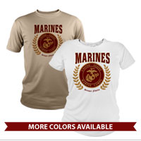 _Performance Shirt: Red Marines Seal