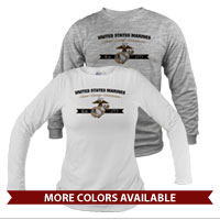 _Long Sleeve Shirt (Unisex): Honor, Courage, Commitment - Gold