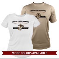 _Performance Shirt: Honor, Courage, Commitment - Gold
