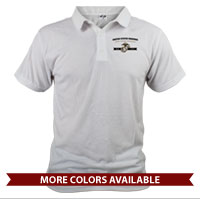 _Polo (Unisex): Honor, Courage, Commitment - Gold