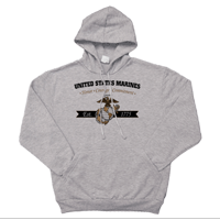 _Hoodie: Honor, Courage, Commitment - Gold