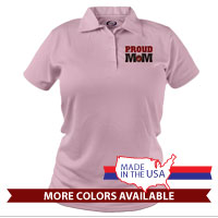 _Polo (Ladies): USMC Seal - MoM