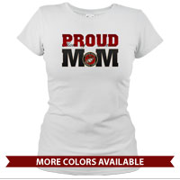 _T-Shirt (Ladies): USMC Seal - MoM