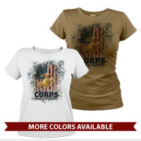 _T-Shirt (Ladies): Corps & Country