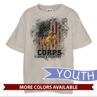 _T-Shirt (Youth): Corps & Country