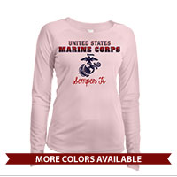 _Long Sleeve Solar Shirt (Ladies): United States Marine Corps