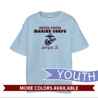 _T-Shirt (Youth): United States Marine Corps