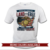 _T-Shirt (Unisex): Home of the Brave