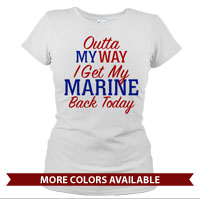 _T-Shirt (Ladies): Outta my way...