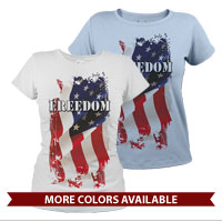 _T-Shirt (Ladies): Freedom