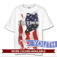 _T-Shirt (Youth): Freedom