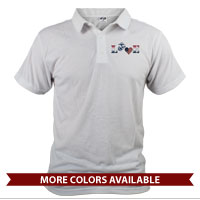 _Polo (Unisex): Patriotic Love