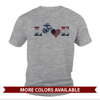 _T-Shirt (Unisex): Patriotic Love
