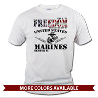 _T-Shirt (Unisex): Freedom, Brought to you by...