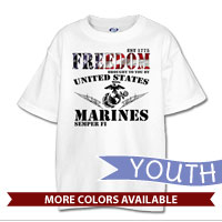 _T-Shirt (Youth): Freedom, Brought to you by...