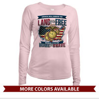 _Long Sleeve Solar Shirt (Ladies): Home of the Brave