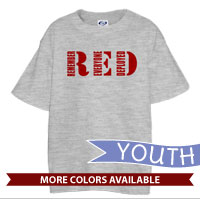 _T-Shirt (Youth): RED