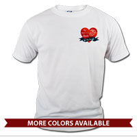 _T-Shirt (Unisex): My Heart Beats...