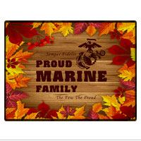 Doormat: Autumn Marine Family