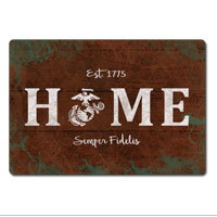 _Sign, Metal (12x18): EGA Home