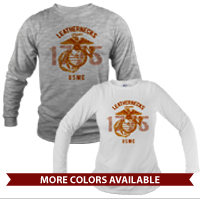 _Long Sleeve Shirt (Unisex): Leathernecks USMC