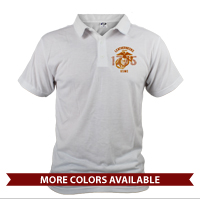 _Polo (Unisex): Leathernecks USMC