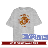 _T-Shirt (Youth): Leathernecks USMC