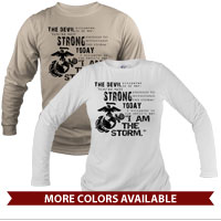 _Long Sleeve Shirt (Unisex): I Am The Storm