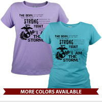 _T-Shirt (Ladies): I Am The Storm